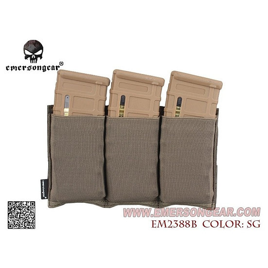 EMERSON FAST UNIVERSAL TRIPLE MAG POUCH  OD