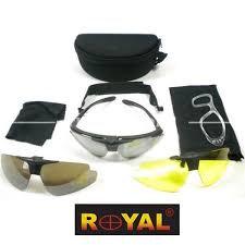 kit occhiale royal 3 lenti
