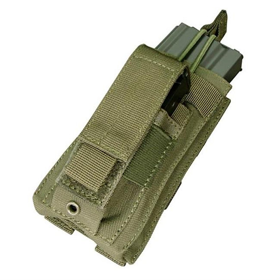 CONDOR SINGLE KANGAROO 5.56 MAG POUCH OD