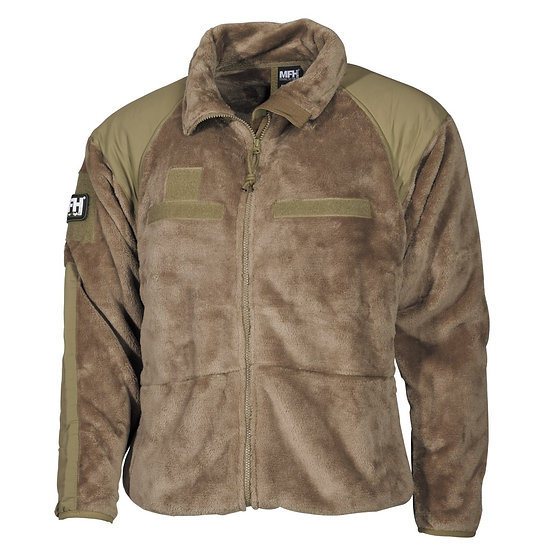 MFH US PILE COLD WEATHER  COYOTE TAN TG.M