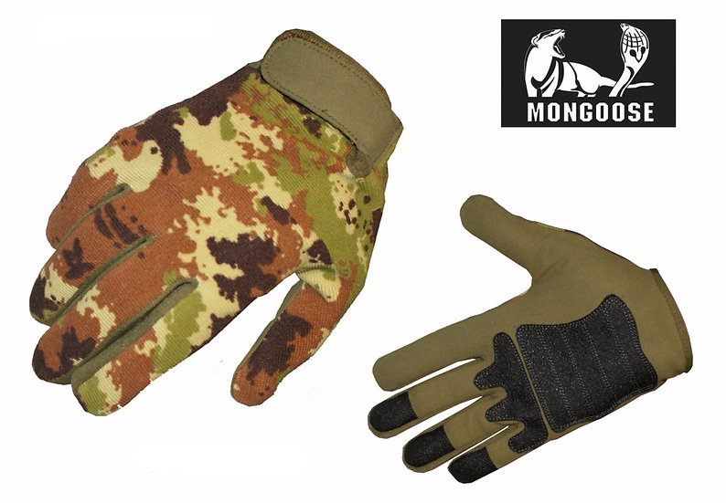 MONGOOSE GUANTO TACTICAL VEGETATO ITALIANO L