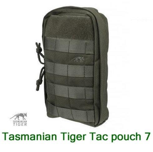 TASMANIAN TIGER TAC POUCH 7 OLIVE