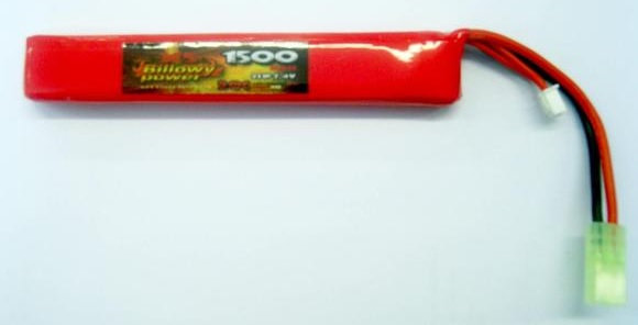 BILLOWY POWER BATTERIA LIPO 7.4X1500 20C