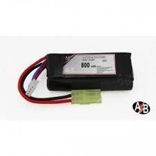 batteria lipo 800x7.4  20c ab minitamya