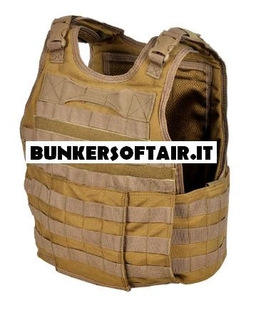 INVADER GEAR DACC CARRIER COYOTE BROWN
