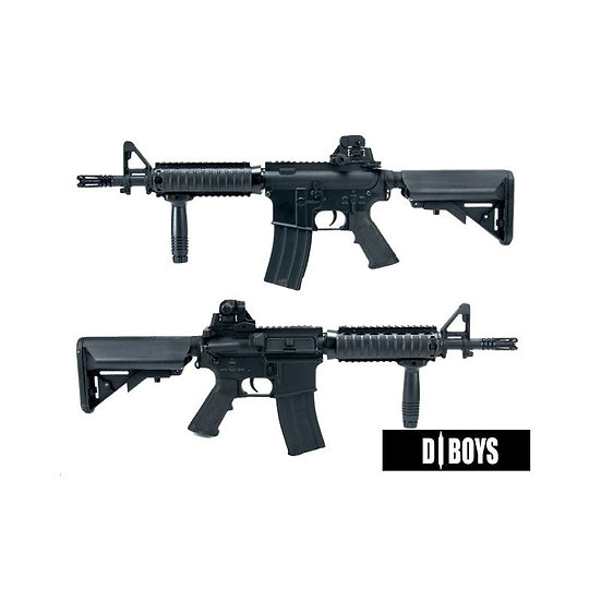 DBOYS M4 CQB FULL METAL RIS BLACK
