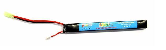 E-TANG POWER LI-PO 7.4X1300 25C PER SERIE AK