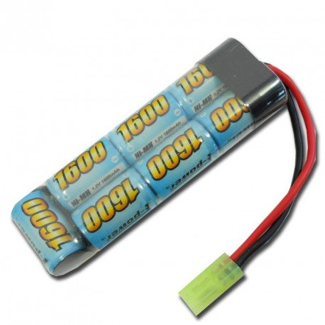 EPOWER BATTERIA NiMh 8,4x1600 mAh MINI