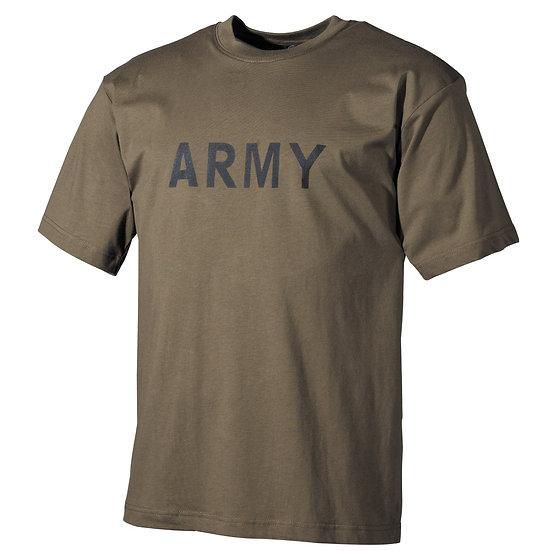 MFH T-SHIRT ARMY OLIVE TG. M