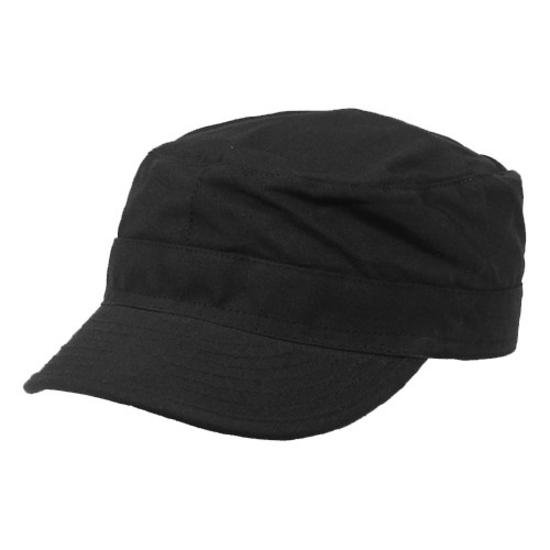 MFH BDU CAP BLACK TG.L