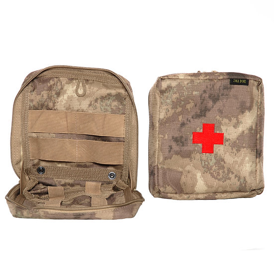 101 INC. MEDIC UTILITY POUCH BIG RED CROSS COYOTE