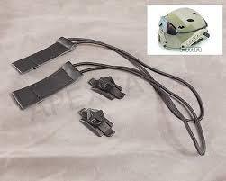 elastici maschera sgancio rapido per elmetti con rail neri fma