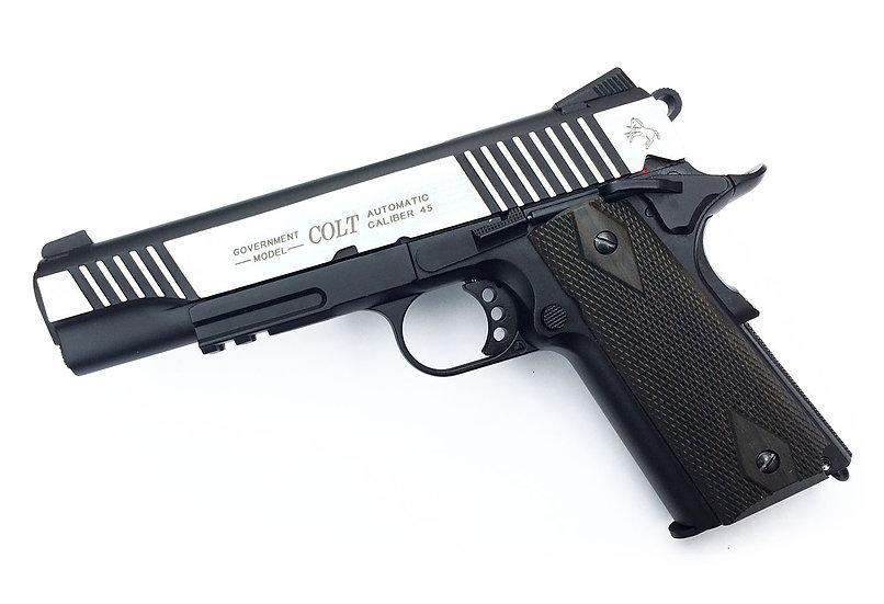 CYBERGUN COLT 1911 RAIL GUN CO2 BLACK MIRROR
