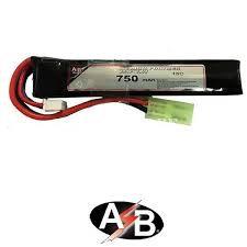 batteria lipo  750x7.4  15c tamiya ab