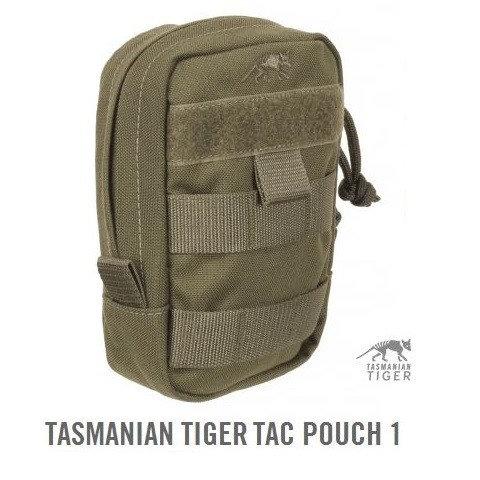 TASMANIAN TIGER TAC POUCH 1 OLIVE