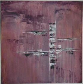A rainy day   |   2012 |  Mischtechnik in Acryl |  80x80cm