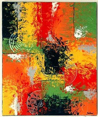 o.T.   |    2008  |  Spachteltechnik in Acryl  |  50x60cm