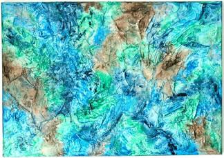 o.T.   |    2010  |  Spachteltechnik in Acryl  |  70x100cm