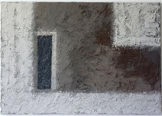 o.T.   | 2011  |  Spachteltechnik in Acryl | 70x100cm