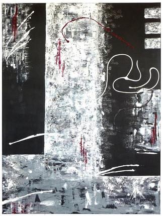 o.T.    |    2011  |  Mischtechnik in Acryl und Kreide  |  70x80cm