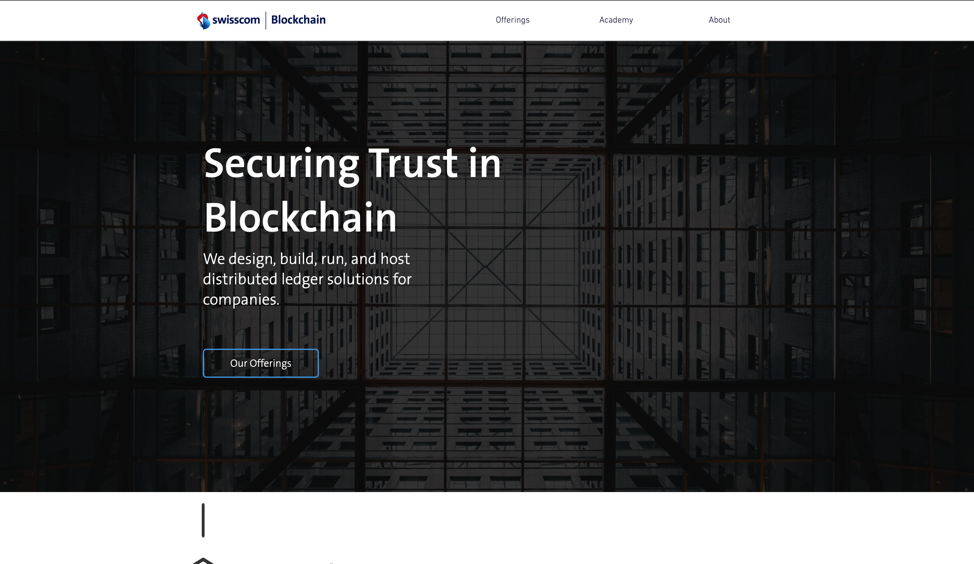 Home Swisscom Blockchain Ag Switzerland