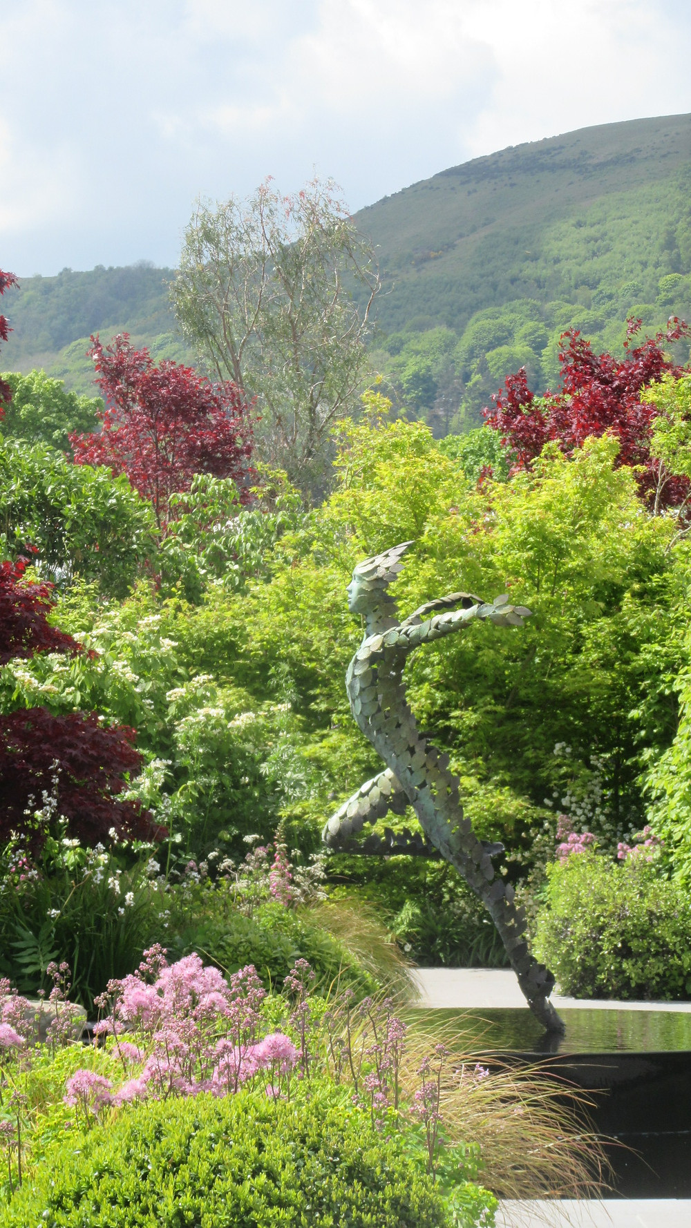 A garden of quiet contemplation designed by Peter Dowle Malvern