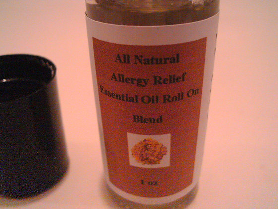 Allergy Relief Roll On Oil Blend 1 oz