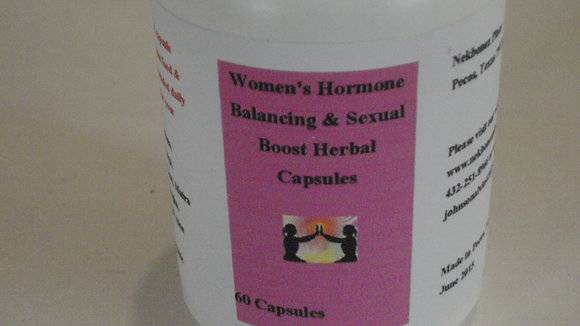 Women's Hormone & Sexual Blend Capsules 120ct
