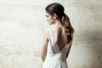 Vestido de novia hecho a medida. Barea Barcelona