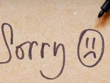 My apologies ..