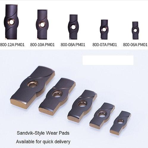 Sandvik Style Wear Pads