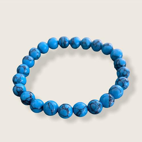 Bracelet - Blue Howlite