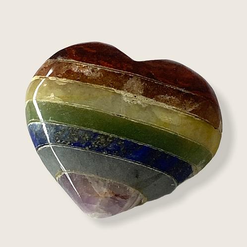 7 Chakras Heart - 5cm