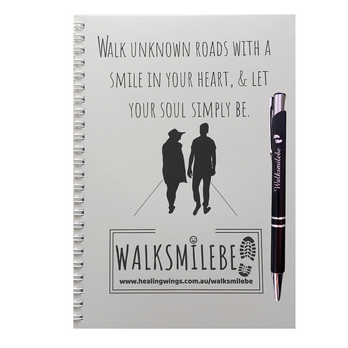 WALKSMILEBE Journal & Pen
