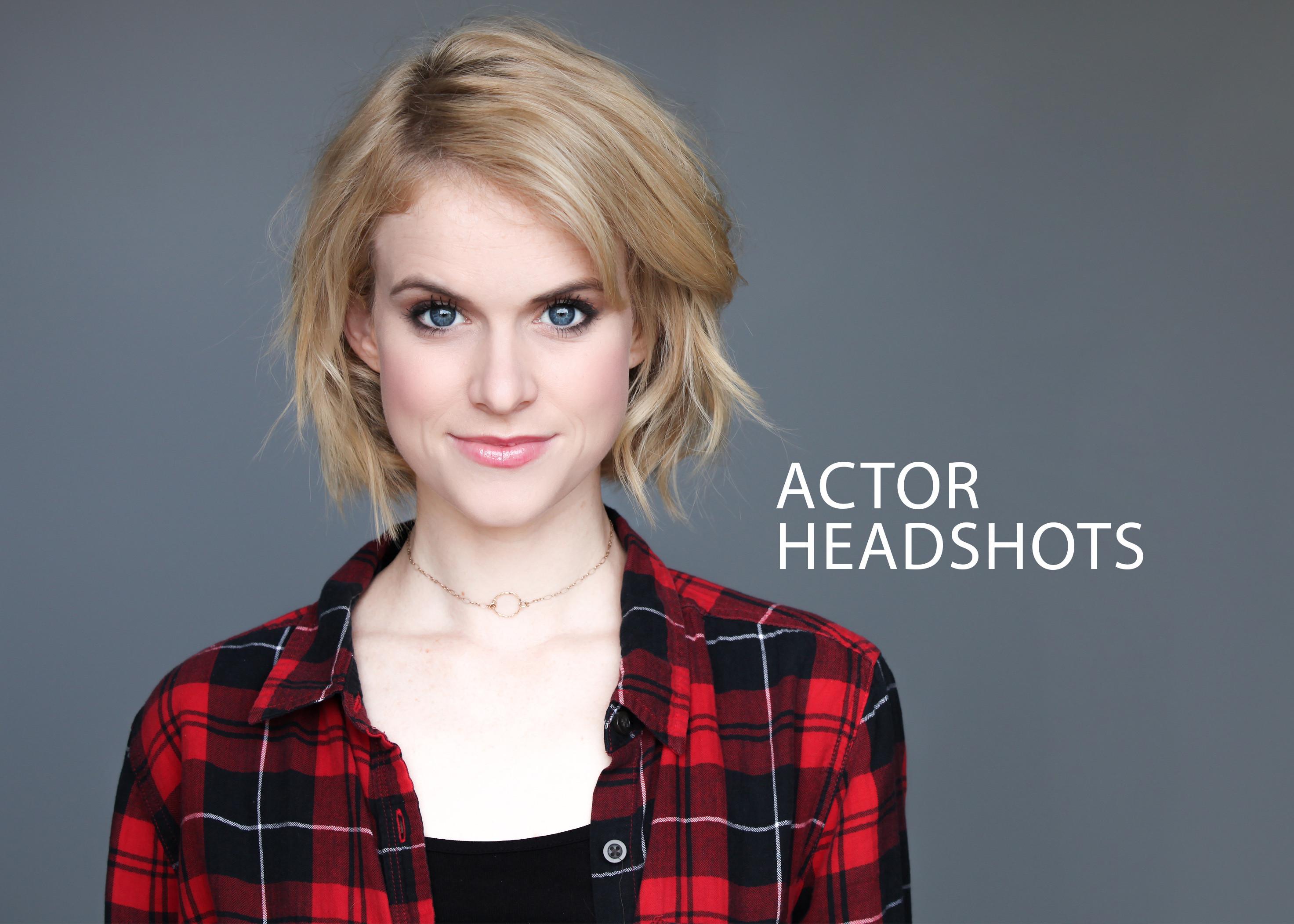 Actor Headshots for Broadway Bound
