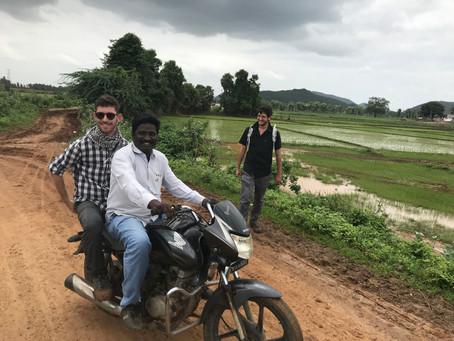 סמסטר שלם בכפר נידח בהודו