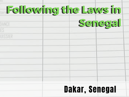 Why It's Important to Follow the Laws in Senegal