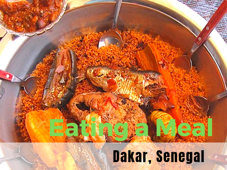 5 Steps to Eating a Group Meal in Senegal