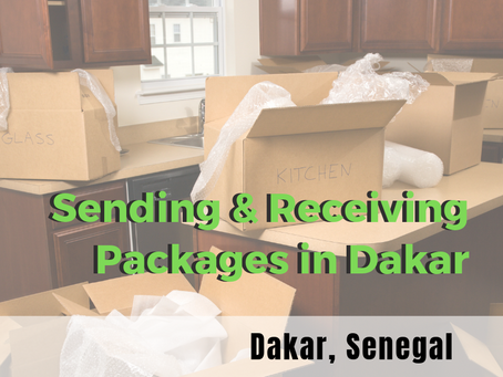 Sending & Receiving Packages in Dakar
