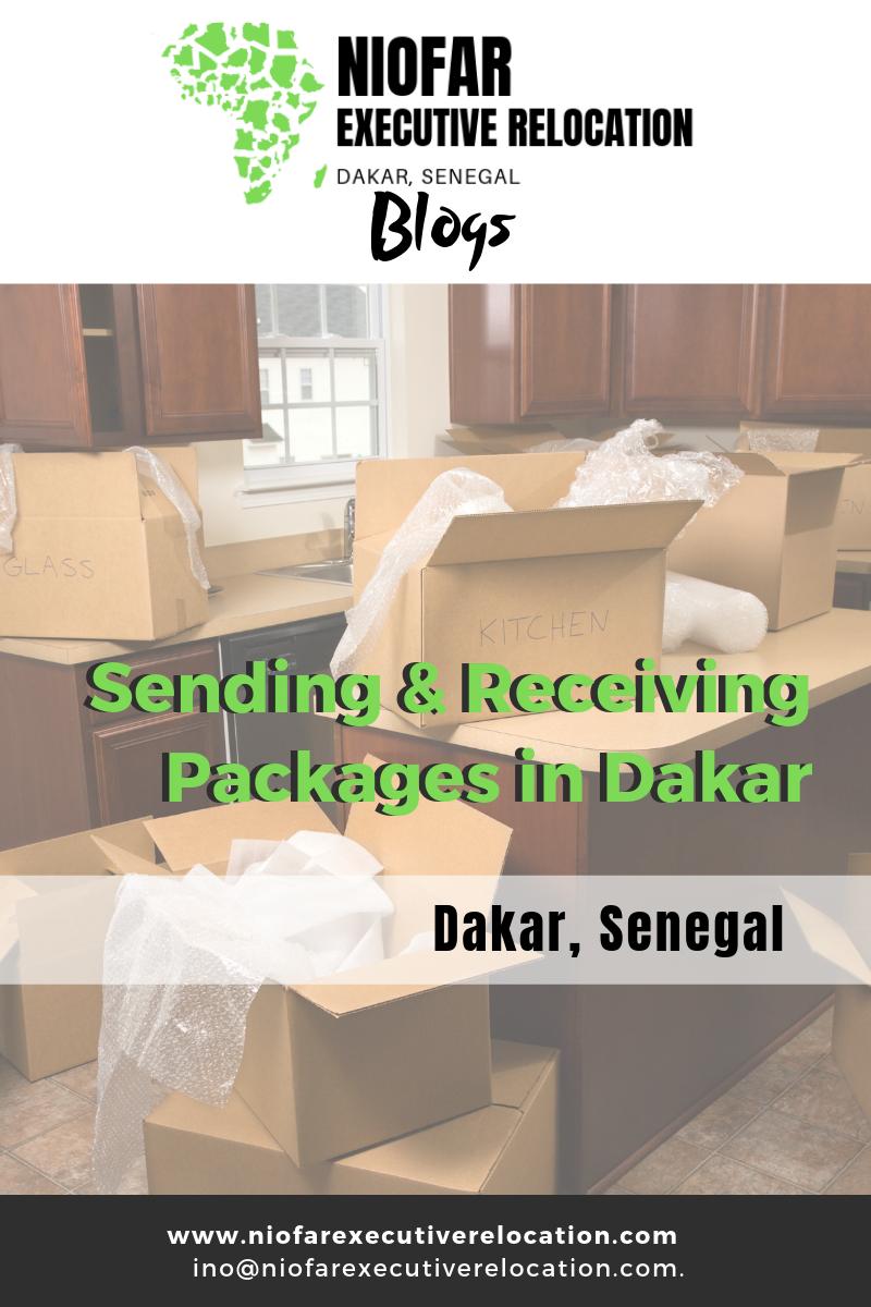 Mail, packages, DHL, Dakar, Senegal, Post office, la Poste Dakar