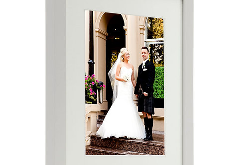 Framed picture holds A4 print - Includes colour and print of your choi