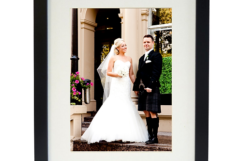 Framed picture holds A4 print - Includes colour & print of your choice