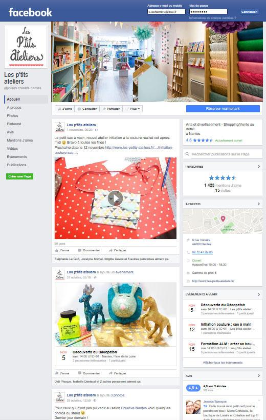 Webdesign Facebook