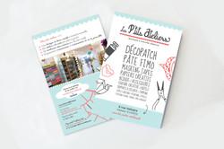 Conception graphique Flyer pour Les p'tits ateliers