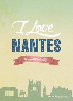 Carte postale Nantes