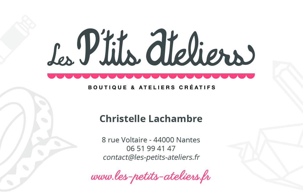 Carte de visite Les p'tits ateliers