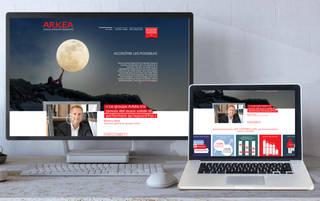Site Internet Arkea