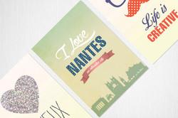 Conception graphique Cartes postales