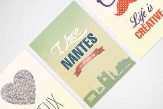 Création graphique Cartes Postales