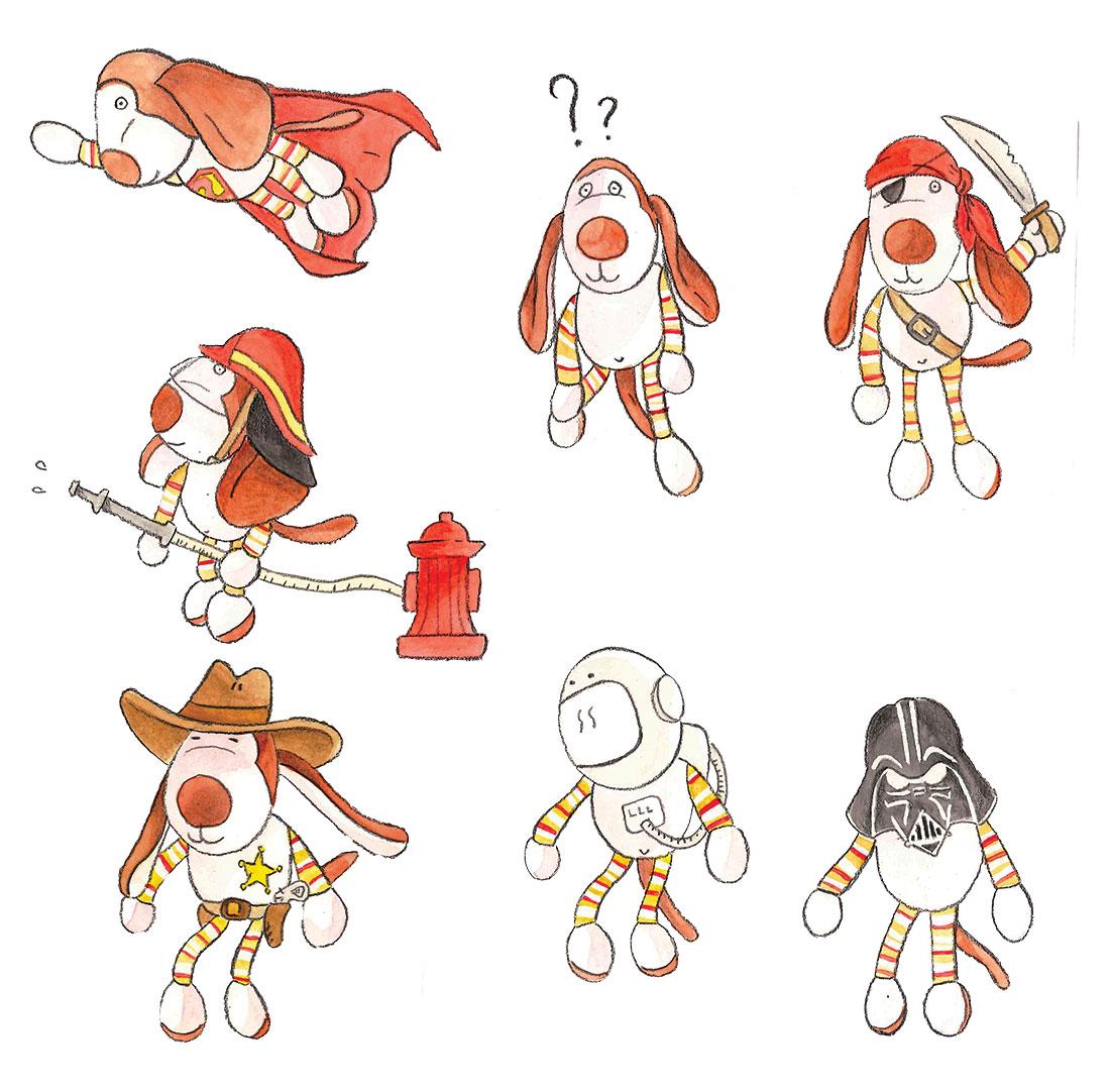 Illustrations livre pour enfant